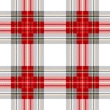 无缝的苏格兰格子花呢披肩方格的传染媒介样式 图库摄影