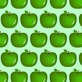 无缝的苹果 库存例证