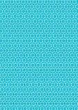 无缝的蓝色和白色样式纹理背景传染媒介 库存照片