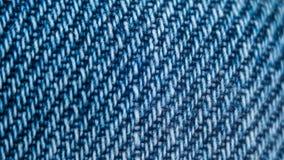无缝的蓝色牛仔布纹理 重复样式背景 图库摄影