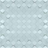 无缝的薄荷的灰色正方形-方形的抽象样式 免版税库存照片