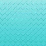 无缝的薄荷的绿色正方形-方形的抽象样式 免版税库存图片