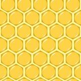 无缝的蜂蜜 向量例证