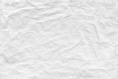 无缝的被弄皱的纸样式,背景纹理 免版税库存图片