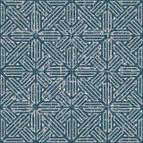 无缝的被用完的古色古香的背景305_cross几何线 库存图片