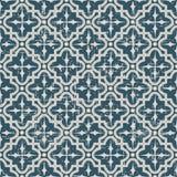 无缝的被用完的古色古香的背景196_cross圆的方形的线 库存图片