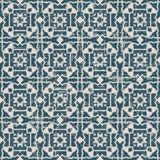 无缝的被用完的古色古香的背景141_outline几何十字架 库存照片