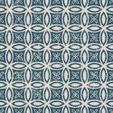无缝的被用完的古色古香的背景188_round十字架几何 免版税库存照片