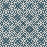 无缝的被用完的古色古香的背景190_round叶子几何 库存图片