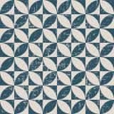 无缝的被用完的古色古香的背景192_round正方形几何 库存图片