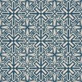 无缝的被用完的古色古香的背景194_spiral十字架几何 图库摄影