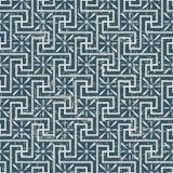 无缝的被用完的古色古香的背景175_spiral十字架线几何 库存图片