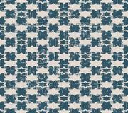 无缝的被用完的古色古香的背景144_star三角几何 向量例证