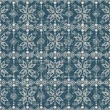 无缝的被用完的古色古香的背景281_triangle正方形几何 免版税库存图片