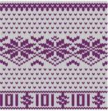 无缝的被编织的手编织品企业背景 免版税库存照片