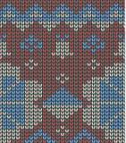 无缝的被编织的背景-例证 库存照片