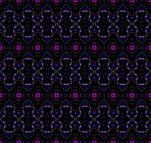 无缝的规则样式洋红色紫色黑色 皇族释放例证