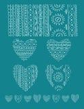 无缝的部族纹理 免版税图库摄影