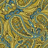 无缝的重复的样式包括的色的样式buta 向量例证