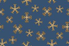 无缝的雪花 向量例证