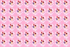 无缝的颜色splats样式 免版税库存照片