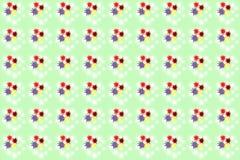 无缝的颜色splats样式 免版税图库摄影