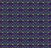 无缝的马赛克样式紫色绿色 库存照片