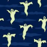 无缝的鬼魂 免版税库存图片