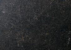 无缝的黑暗的混凝土墙背景纹理 免版税库存照片