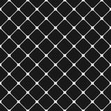 无缝的黑白照片环绕了方形的网格图形背景-从对角正方形的图形设计 皇族释放例证