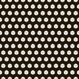 无缝的黑的白色几何样式 图库摄影