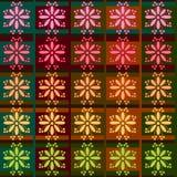无缝的织品纹理形状 库存图片