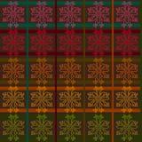 无缝的织品纹理概述 免版税库存照片
