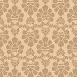 无缝的织品装饰样式Walpaper 免版税库存图片