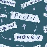 无缝的结构财务 免版税库存照片