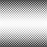 无缝的黑白方形的样式 免版税库存图片