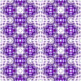无缝的紫色抽象重复的样式 免版税图库摄影