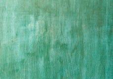无缝的绿色木背景 库存图片