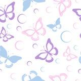 无缝的蝴蝶 免版税库存照片