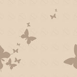 无缝的蝴蝶 免版税图库摄影