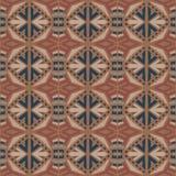 无缝的abtract传染媒介部族样式纹理背景 图库摄影