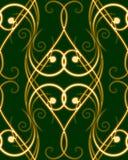 无缝的swirles样式 免版税库存图片