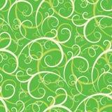 无缝的swirly墙纸 免版税库存照片