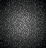无缝的swirly背景 免版税库存图片