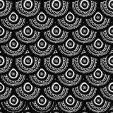 无缝种族的模式 免版税图库摄影
