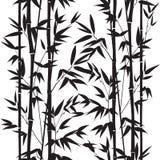 无缝竹的模式 图库摄影