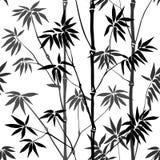 无缝竹的模式 皇族释放例证