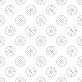 无缝篮球的样式 免版税图库摄影