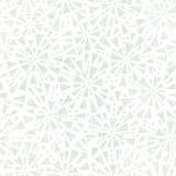 无缝绿色抽象三角纺织品的纹理 库存照片