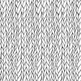 无缝编织的模式 库存图片